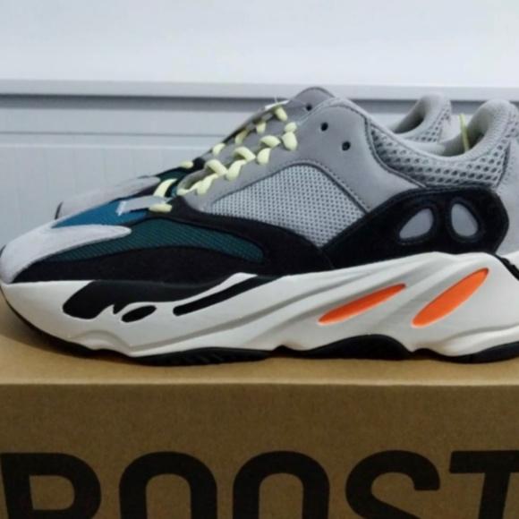 Adidas Yeezy Boost 700 'Wave Runner Solid Grey'